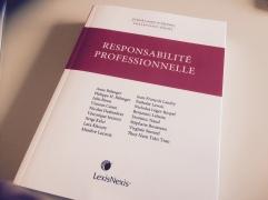 Ouvrage collectif sur la responsabilité professionnelle